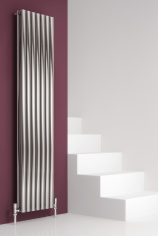 Satin (Brushed) Stainless Steel Radiators