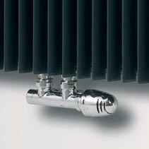 Deluxe Central Radiator Valves - Pair