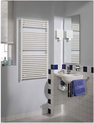 REINA Diva Towel Rail - White