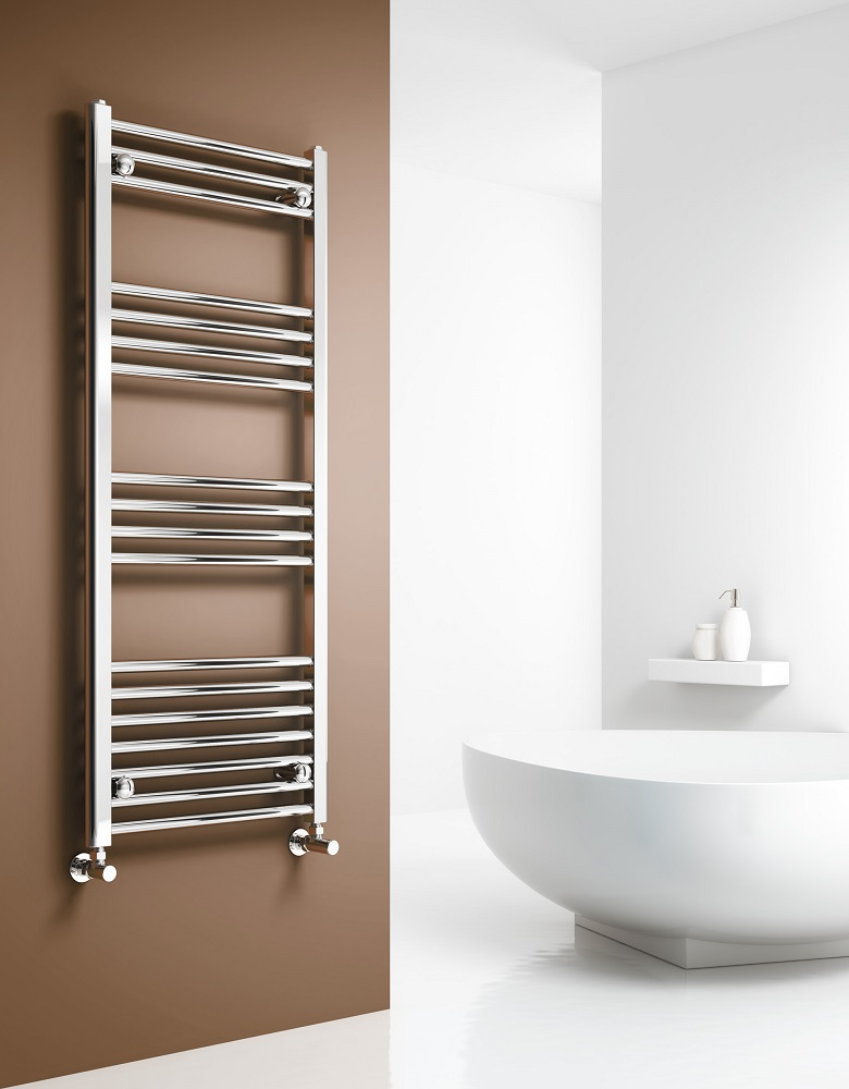 Capo Chrome Towel Rail Radiator World
