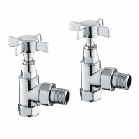 Bronte Traditional Radiator Valves - Pair