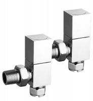 Richmond Polished Chrome Valves - Pair
