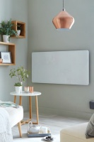 Vetro Glass Electric Radiator - Horizontal