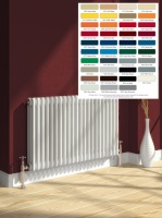 REINA Colona Column Radiators - Horizontal RAL Coloured