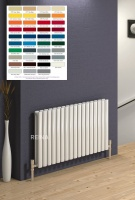 REINA Neva Radiators - Horizontal RAL Colours
