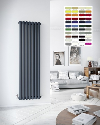 DQ Cassius Vertical Radiator - RAL Coloured