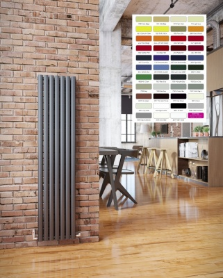 DQ Cove Radiator - Vertical RAL Colours