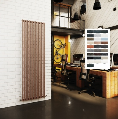 DQ Vulcano Radiator - Vertical Special Finishes