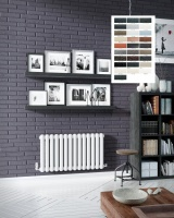 DQ Cassius Horizontal Radiator - Special Finishes