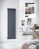 DQ Cassius Vertical Radiator - Special Finishes