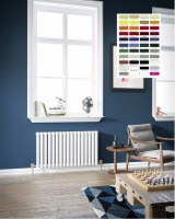 DQ Cove Radiator - Horizontal RAL Colours