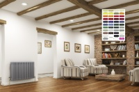 DQ Peta 2 Column Radiator - RAL Coloured