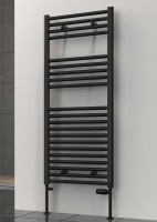REINA Diva Towel Rail - Black - White - Anthracite - Latte